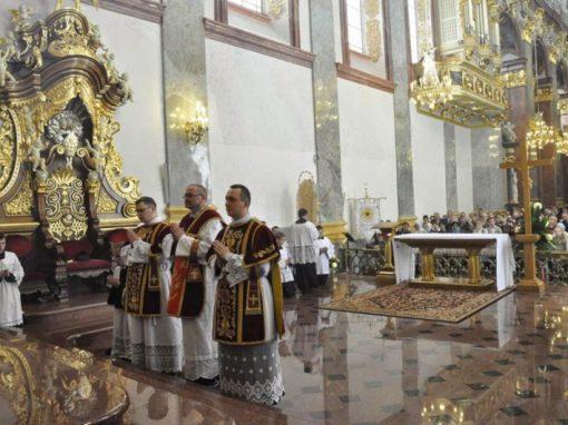 Tradiclaromontana2014 – Ogólnopolska Pielgrzymka Wiernych Tradycji Łacińskiej na Jasną Górę.