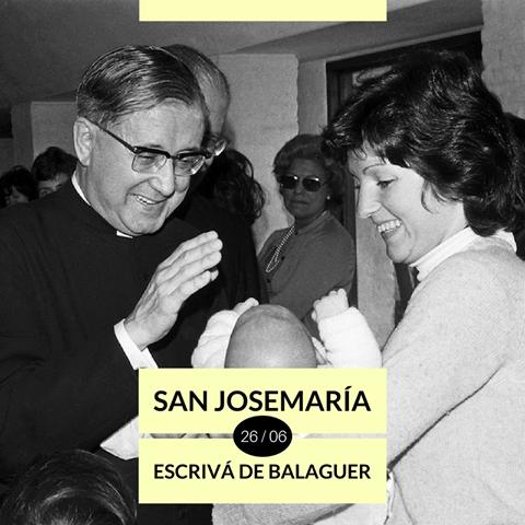 Dziś wspomnienie liturgiczne św. Josemarii.