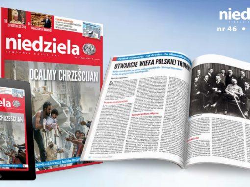 Zaproszenie na Tradiclaromontana2017 w Tygodniku Niedziela.