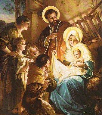 Chwała Bogu na wysokości, a na ziemi pokój ludziom Jego upodobania (Łk 2, 14).