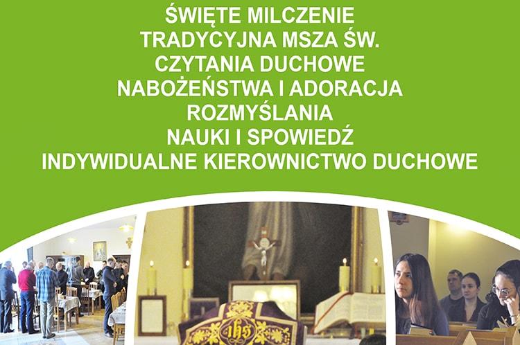 Ogólnopolskie Rekolekcje Wiernych Tradycji Łacińskiej – Tradicolekcje2020.